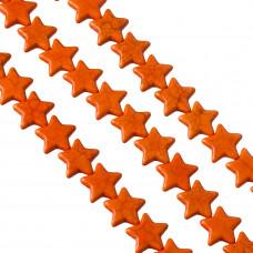 Howlit gwiazdka pomarańczowa 18mm
