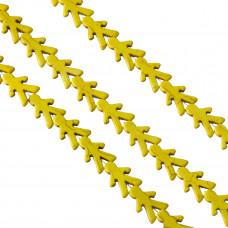 Howlit chłopiec żółty 22x15mm