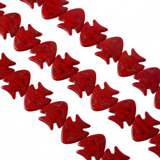 Howlit rybka czerwona 25x23mm