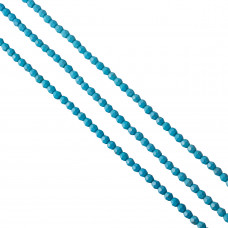 Howlit kulka fasetowana niebieska 6mm