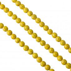 Howlit kulka fasetowana żółta 10mm