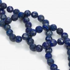 Lapis lazuli kulka fasetowana 12mm