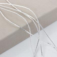 Hematyt platerowany srebrny walec 4x2mm