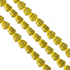 Howlit budda żółty 15mm