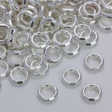 Przekładka pierścionek ze ściętymi krawędziami 12mm