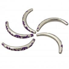 Metalowe rurki emaliowane 4cm