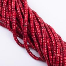 Koral czerwony oponka wiśniowa 7x5mm