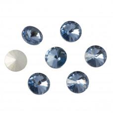 Kryształek rivoli denim blue 10mm