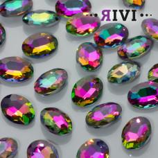 Kaboszon kryształowy virail medium 13x18mm