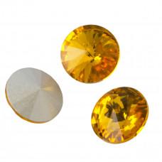 Kryształek rivoli sunflower 18mm