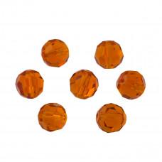 Kryształki kulka fasetowana hiacynth 10mm