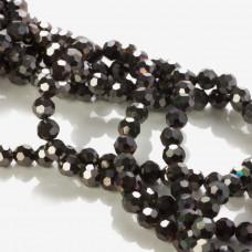 Kryształki kulki dark hematite 6mm