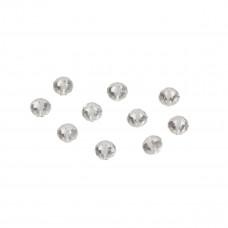 Oponki fasetowane crystal 4x6mm