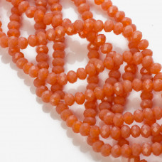 Kryształki oponki opal red 4x6mm