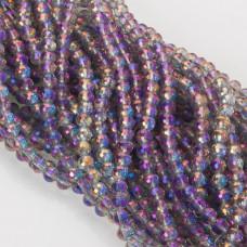 Kryształki kulki fasetowane 6mm mistic violet