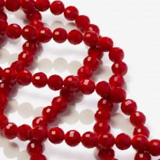 Kryształki kulki 96 cutts ceramic red 8mm