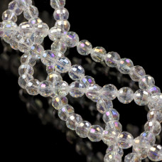 Kryształki kulki 96 cutts crystal AB 8mm