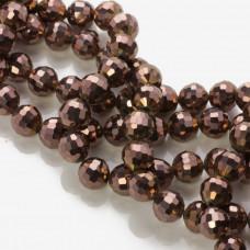 Kryształki kulki 96 cutts metalic bronze 10mm