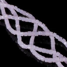 Kryształki cube ice rose 4,5x4,5mm