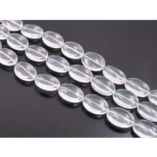 Szklane owale crystal 18x14mm