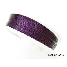 Linka stalowa fioletowa 0,45mm