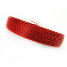 Linka stalowa czerwona 0,45mm