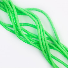 Koraliki Katsuki z modeliny zielone 4mm