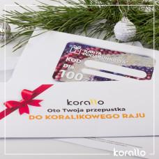 Karta podarunkowa o wartości 200 zł