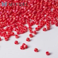 Koraliki Miyuki Delica 11/0 Opaque Cranberry AB Matted