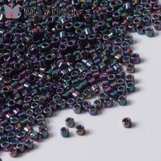 Koraliki Miyuki Delica 11/0 Metallic Purple/Green Gold Iris