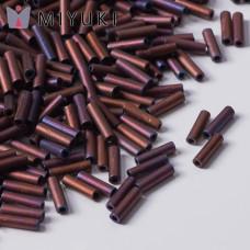 Koraliki Miyuki Bugles #2 6 mm Matted Metallic Copper