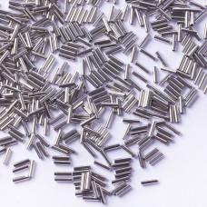 Koraliki Miyuki Bugles #2 6 mm Palladium Plated