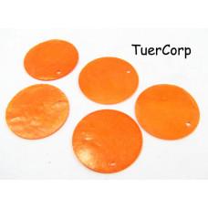 Masa perłowa koło pomarańczowe 30mm