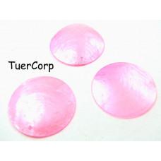 Masa perłowa koło różowe 40mm
