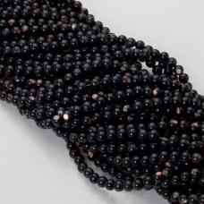 Masa perłowa czarna kulka opalizująca 5mm