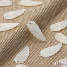 Masa perłowa zawieszka skrzydło 35x15mm