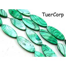 Masa perłowa dzida malowana zielona 28mm