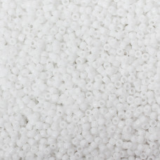 Koraliki Matsuno round Opaque White 10/0