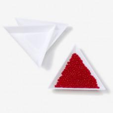 Tacki do koralików trójkątne 6x6cm