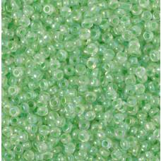 Koraliki NihBeads 12/0 Inside-Color Rainbow Crystal/ Sea Foam Line