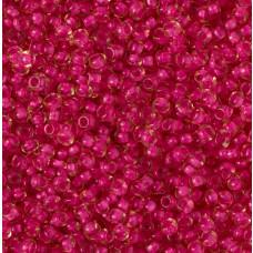 Koraliki NihBeads 12/0 Inside-Color Rosaline/ Fucia Line