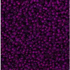 Koraliki NihBeads 12/0 Inside-Color Black Diamond/ Fucia Line