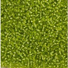 Koraliki NihBeads 12/0 Silver-Lined Lime Green