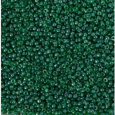 Koraliki NihBeads 12/0 Trans-Lustered Grass Green