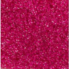 Koraliki NihBeads 12/0 Inside-Color Crystal/ Dark Hot Pink Line