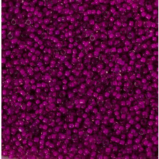 Koraliki NihBeads 12/0 Inside-Color Crystal/ Dark Mueve Line