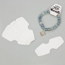 Kartonik do biżuterii biały 40x33mm