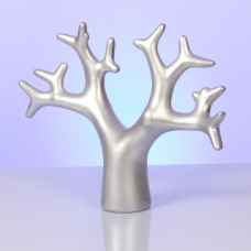 Srebrny ekspozytor drzewo 25x31cm
