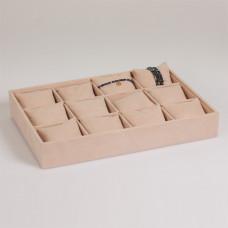 Ekspozytor na bransoletki z poduszkami 12 komorowy 35x24 cm