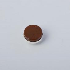 Srebrna wpinka Kaleidoskop jaspis brązowy 10mm